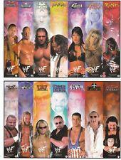 33 WWF BOOKMARKS 33 DIFFERENT DESIGNS WWE the rock steve austin HHH wrestling