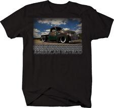 American Hotrod Chevy Apache 3100 Patina Pickup Tshirt