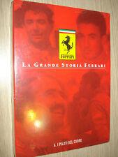 DVD LA GRANDE STORIA FERRARI N°6 I PILOTI DEL CUORE NEW