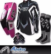 YOUTH MX MOTOCROSS JERSEY+PANTS+GLOVES*PINK*Dirt Bike Gear/BMX/Off-road/Kids/ATV