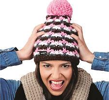 Winter Women Ladies Beanie Hat Knitted Wool Warm Fashion Ski Hats Batty Style LA