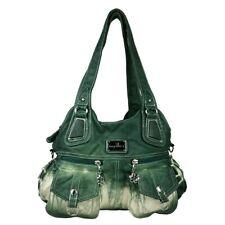 Gewaschenes Leder Damen Handtasche Schultertasche Shopper Angel Kiss Washed Bag