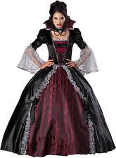 Vampiress Of Versailles Adult Womens Costume Halloween Victorian Gown Steampunk