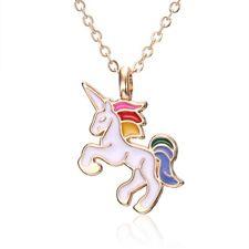 Mutli Color Unicorn Necklace Girls Cute New Free Ship Christmas Jewelry