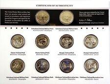 2011 America the Beautiful Quarters Uncirculated Coin Set Philadelphia & Denver