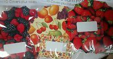 Easybake Quality Fruit + Berries JAM JAR POT COVER Kit + label Gift? Multi LIST