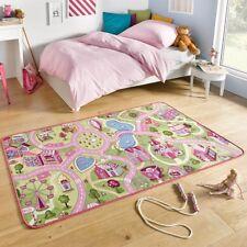 Spielteppich Kinderteppich Sweettown rosa | 102378