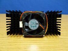 "Heatsink 4-7/8 x 2-1/4"" with Fan MW-510M-12C 12VDC 0.11A  Attached w Screws Q15"