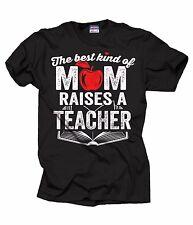 Gift For Mother Teacher's Mom T-shirt  Back To School T-shirt Teacher Tshirt