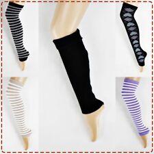 NEU Trend Stulpen Strumpf Muster Kurz Lang Bein Legwarmer Beinstulpen Baumwolle