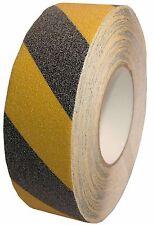PVC Antirutschband Klebeband 50mm Gelb - Schwarz Selbstklebend Treppen Streifen
