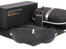 Rund Retro Polarisiert Sonnenbrille Herren Pilotenbrille Fliegerbrille Sunglasse