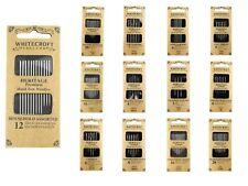Whitecroft Heritage Hand-Nähen Nadeln - Alle Stile/Größen -nähen Basteln Perlung