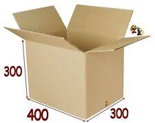 20 boîtes emballage carton 400 X 300 X 300 mm 36 litres pour l'expedition