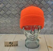 Orange Beanie / Watch Hat / Jeep Cap - One size - NEW