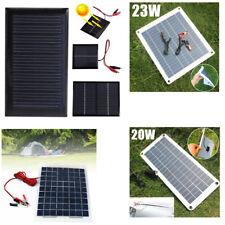 Portatif panneau solaire batterie Chargeur pour téléphone bateau camping voiture