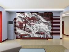 3D Neige Cèdre 635 Photo Papier Peint en Autocollant Murale Plafond Chambre Art