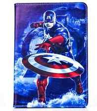 Leather Smart Case Cover for iPad Mini 4/3/2/1 &iPad Air 2/Air - Captain America