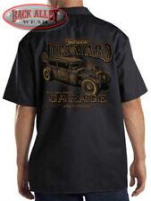 Genuine Junkyard Garage Auto Salvage Mechanics Work Shirt Biker M-3XL Rat Rod