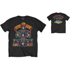 Official T Shirt GUNS N ROSES- NJ SUMMER JAM 1988 Sizes M L Black Mens Merch New