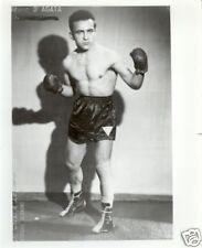 Belle repro photo boxeur italien Mario d'Agata