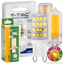 LAMPADINE LED V-Tac Attacco G9 da 2W a 12W Lampada Bulbo Faretto SMD COB
