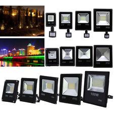 10-100W LED Flutlicht Fluter Scheinwerfer Strahler Baustrahler Lampe Außen IP65