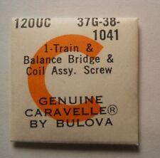 CARAVELLE Watch 12 OUC Part 37G-38-1041 Train & Balance Bridge & Coil Assy Screw