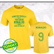 Brazil Always Be... Ronaldo T-Shirt Brazil Tee Samba Brazil Fancy Dress