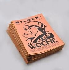 Bilder-Woche Jahrgang 1928 (Heft auswählen) Versicherungszeitschrift (Büche)