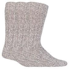Workforce - 3 Pack Mens Thick Heavy Duty Wool Knit Hiking Work Boot Crew Socks