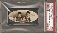 ~ 1934 Carreras Cigarettes ~ LAUREL & HARDY ~ PSA 9 ~ Ultra Rare High Grade ~