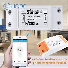 Sonoff ITEAD WiFi Wireless Smart Switch Module ABS Shell Socket for HomeUK