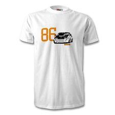 AE86 Corolla Camiseta Hombre Unisex Blanco deriva Toyota driftmoto RWD coche
