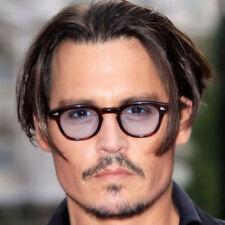 Tinted Glasses Vintage Clear Lens Johnny Depp Fashion Frame Retro Sunglasses Man