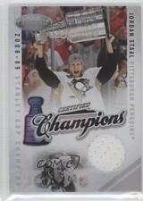 2010-11 Certified Champions Materials Memorabilia #9 Jordan Staal Hockey Card