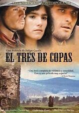 El Tres De Copas DVD NEW Una Pelicula De Felipe Cazals ORIGINAL Nueva SEALED