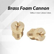 Brass Foam Cannon 1.1/1.25/1.4mm Orifice Nozzle Tips Universal Snow Foam Lance
