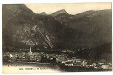 CPA 74 Haute-Savoie Thones et le Torchon