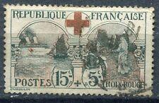 FRANCE TIMBRE OBLITERE N° 156   CROIX ROUGE PROMOTION COTE 70 EUROS