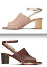 eca35123ce87 Clarks Ellis Ada Womens Sandals w ankle strap--Metallic Combi tan leather