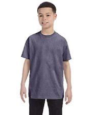 BRAND NEW Gildan YOUTH Plain T Shirts Short Sleeve Blank Tee Top Shirts XS-XL