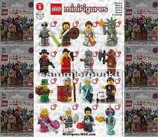 1 LEGO® MINIFIGUR -im DVB oder OVP- Ihrer Wahl aus der Serie 6 - LEGO #8827