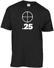 #18 Air rifle calibre caliber .25 with scope cross hair t-shirt