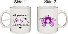 Personalised God parents MUG coffee Godmother Baptism Ceramic Christening Mug