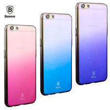 Baseus luxury Glaze Gradient Color Transparent Case For OPPO R9s