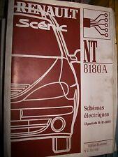schémas électriques MEGANE SCENIC 2000 2001 NT8180