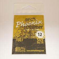 BFC Phoenix 7007 Fly Tying Streamer Fly Hooks / 20pc / Matt Bronze