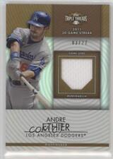 2012 Topps Triple Threads Unity Relics Sepia TTUR-259 Andre Ethier Baseball Card