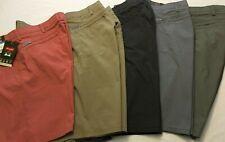 "NWT Wrangler Men's Shorts Flex Waistband & Fabric 5 Pocket Straight 9"" Outdoor"